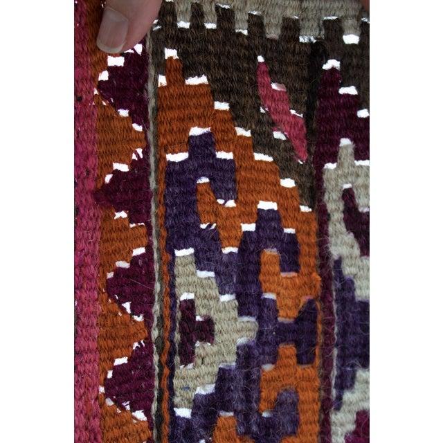 Vintage Kilim Style Rug - 3′ × 4′7″ - Image 6 of 7