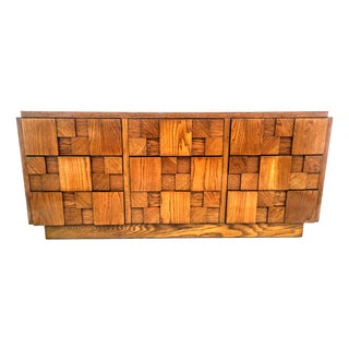 Brutalist Mosaic 9-Drawer Dresser by Lane