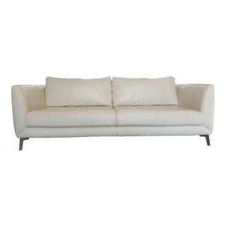 BoConcept Modern Leather Sofa