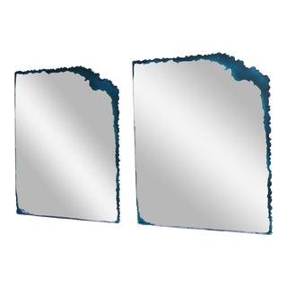 Vintage David Marshall Modernist Mirrors- A Pair