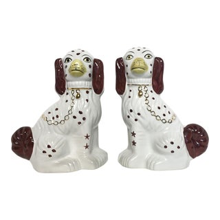 Staffordshire Mantel Dogs - A Pair