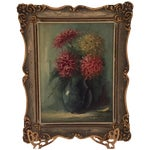Image of Antique Still Life Oil Painting by Greek Artist