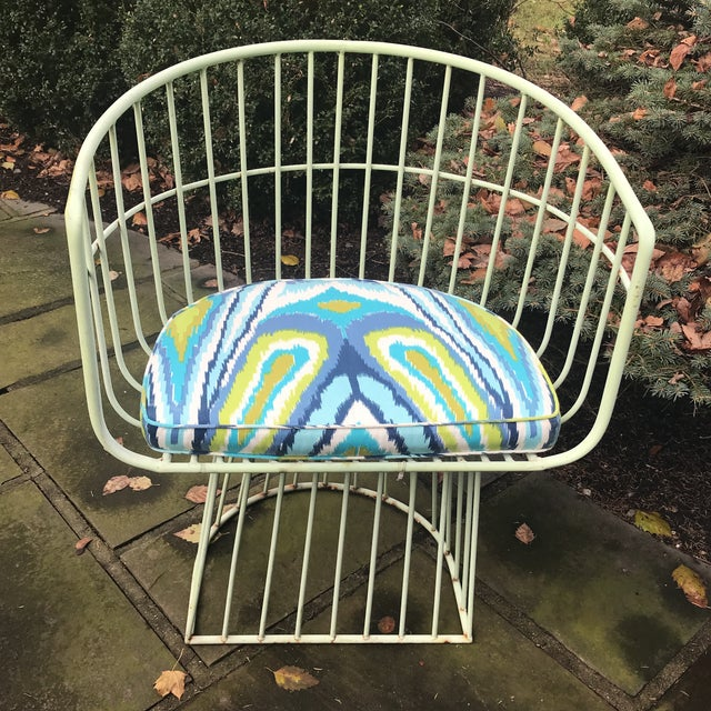 Mid-Century Indoor Outdoor Trina Turk Chairs - a Pair - Image 2 of 9