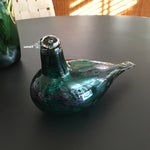 Image of Glass Bird by Oiva Toikka Manufactured Nuutajarvi