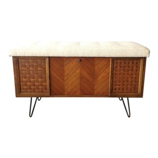 Lane Upholstered Bench Seat Cedar Chest