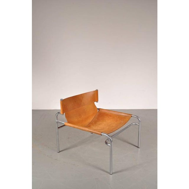 "Lounge Chair ""sz12"" by Walter Antonis for Spectrum, Netherlands, circa 1970 - Image 4 of 9"