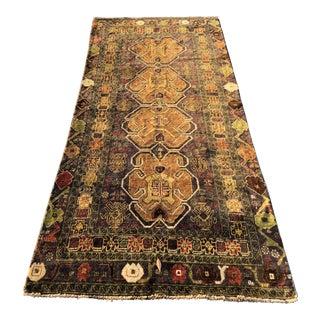 Vintage Persian Baluchi Rug - 3′2″ × 7′3″
