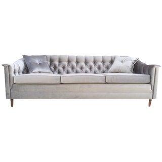 Hollywood Regency Chesterfield Tufted Sofa