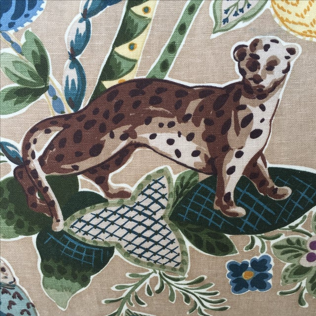 Cowtan & Tout Printed Jungle Pillows - A Pair - Image 3 of 5