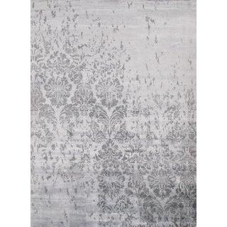 Pasargad N Y Modern Bamboo Silk Rug - 9′ × 12′