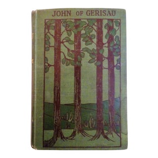 Antique Green Hard Cover Book