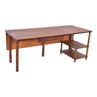 Contemporary Walnut Desk