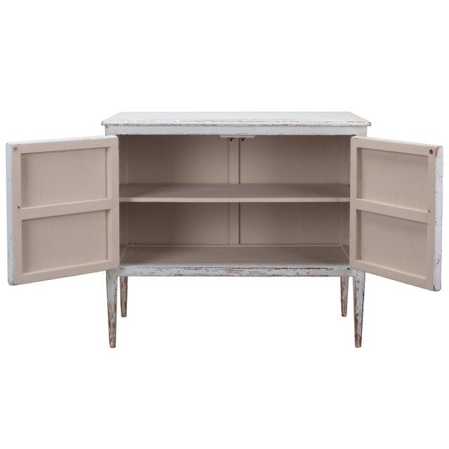 Sarreid LTD Pine Zack Cabinet - Image 3 of 5