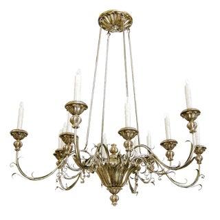 Elegant Veneto Italian Designer Chandelier by Randy Esada Designs