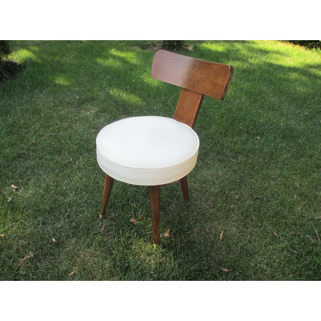 Mid-Century Swivel Vanity Chair - Image 2 of 7