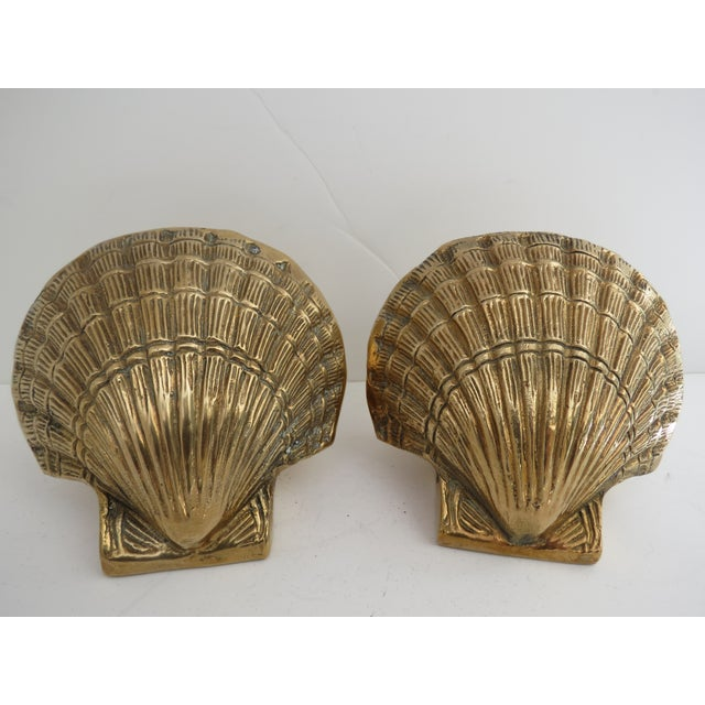 Brass Shell Bookends - Image 2 of 7