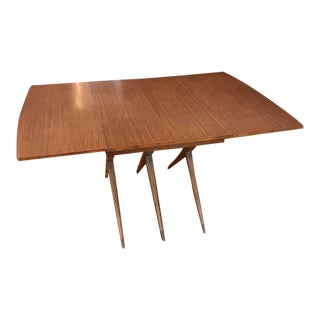 Vintage Mid-Century Modern Expandable Dining Table