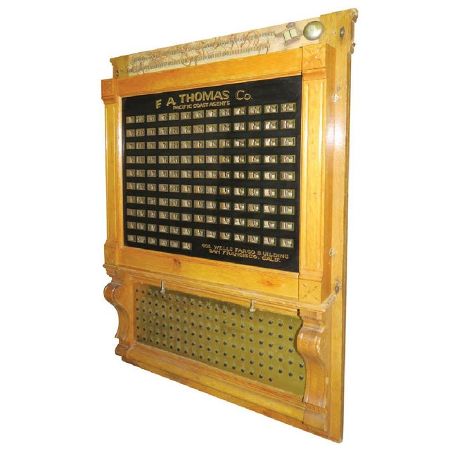 Antique Annunciator Call Box - Image 4 of 11