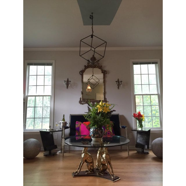 Hand-Forged Iron Pendant Chandelier - Image 3 of 7