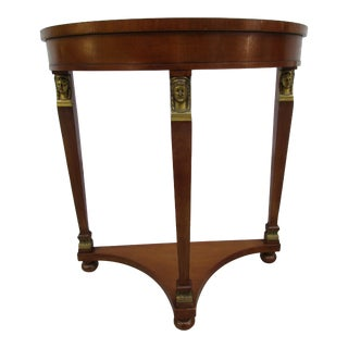 Fine Arts Furniture Demi-Lune Entryway or Hall Table