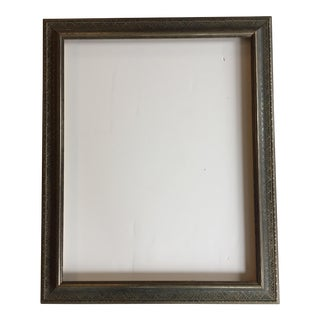 Vintage Silver & Black Detailed Picture Frame