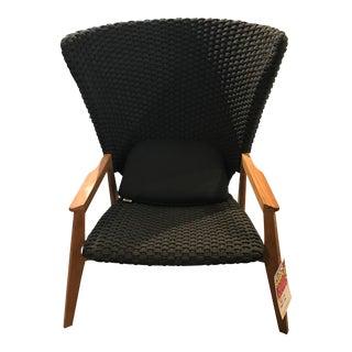 Ethimo Knit High Back Armchair