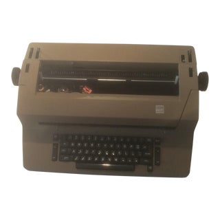Electric Typewriter IBM
