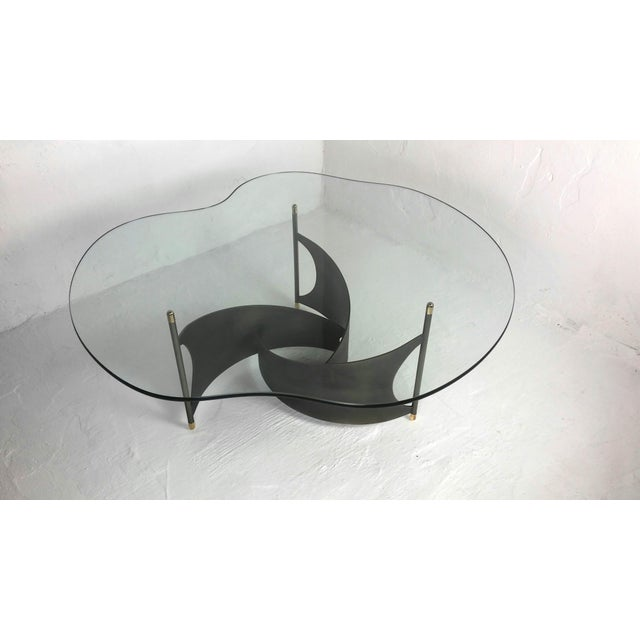 Mid-Century Propeller Base Coffee Table - Image 3 of 9