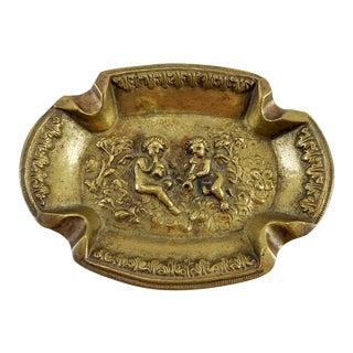 Brass Italian Puti Ashtray