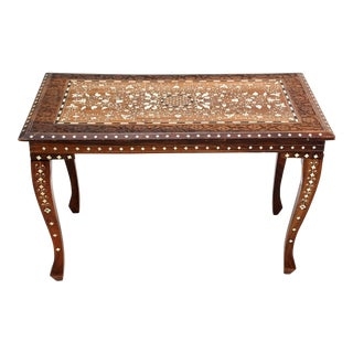 Anglo-Indian Inlaid Table