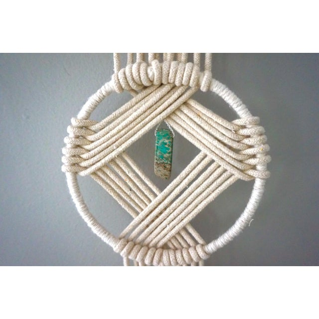 Boho Macrame Wall Hanging - Image 10 of 11