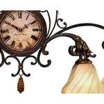 Image of Fine Art Lamps Antiqued Iron Chandelier