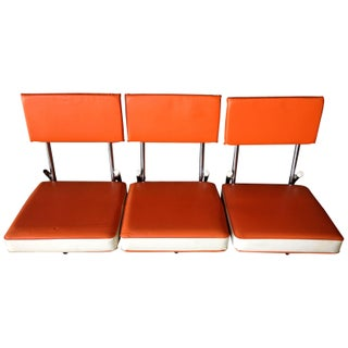 """Hook 'Em!"" Bleacher Seats - Set of 3"