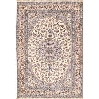 "Pasargad N Y Habibian Persian Nain Handmade Rug - 8'3"" x 12'"