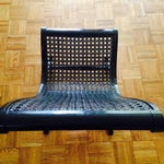 Image of Clara Porset Ebonized Butaque Lounge Chair