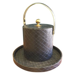 Vintage Kraftware Ice Bucket With Tray