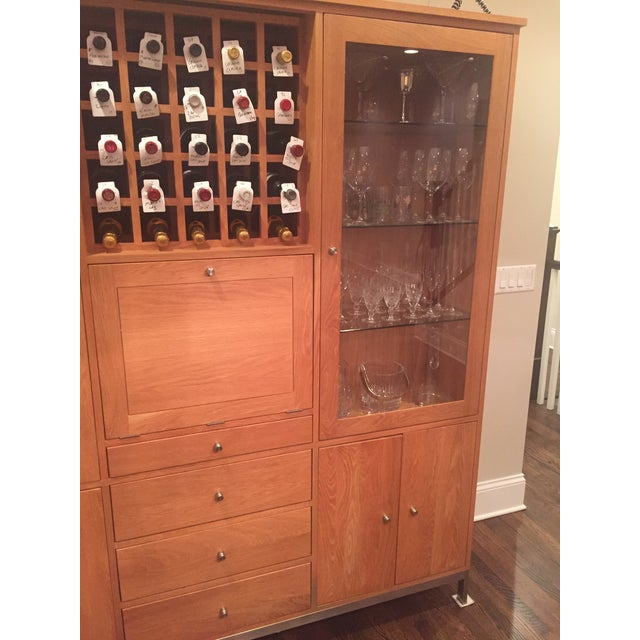 Room & Board Dining Room Armoire - Image 6 of 8
