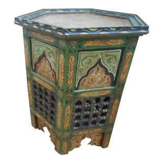 Vintage Moroccan Side Table