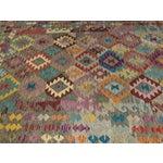 """Image of Bellwether Rugs Wool Kilim Rug - 6'8"""" x 10'"""