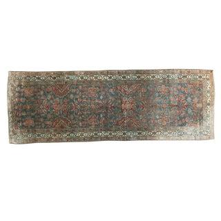 "Vintage Northwest Persian Rug Runner - 3' x 8'6"""