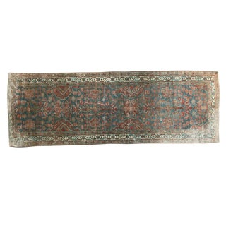 Vintage Northwest Persian Rug Runner - 3' x 8'6""