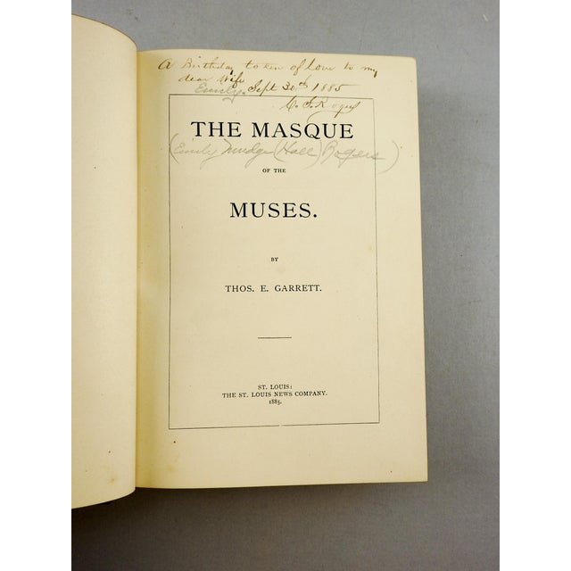 Masque of the Muses by Thomas Garrett - Image 4 of 7