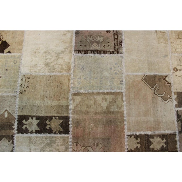 Turkish Multi-Colored Patchwork Rug - 8' x 10' - Image 4 of 7
