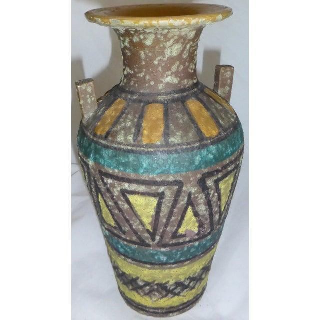 Mid Century Gambone Style Italian Vase - Image 4 of 9
