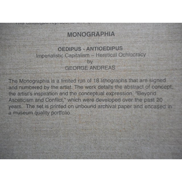 Image of Monographia Lithograph by George Andreas