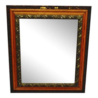 Decorative Wood Gesso Mirror