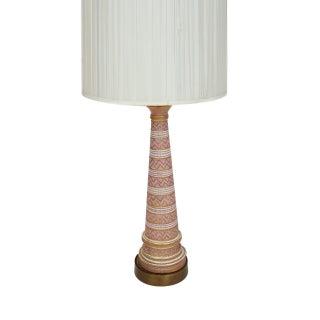Bitossi Aldo Londi Seta Decor Lamp in Soft Pink