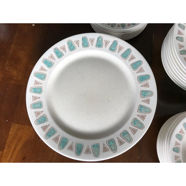 Metlox Poppytrail Navajo Mid-Century China - 48 Pieces - Image 3 of 7