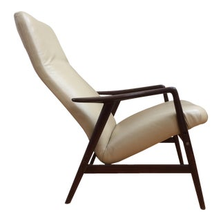 Vintage Reclining Lounge Chair by Folke Ohlsson for Dux