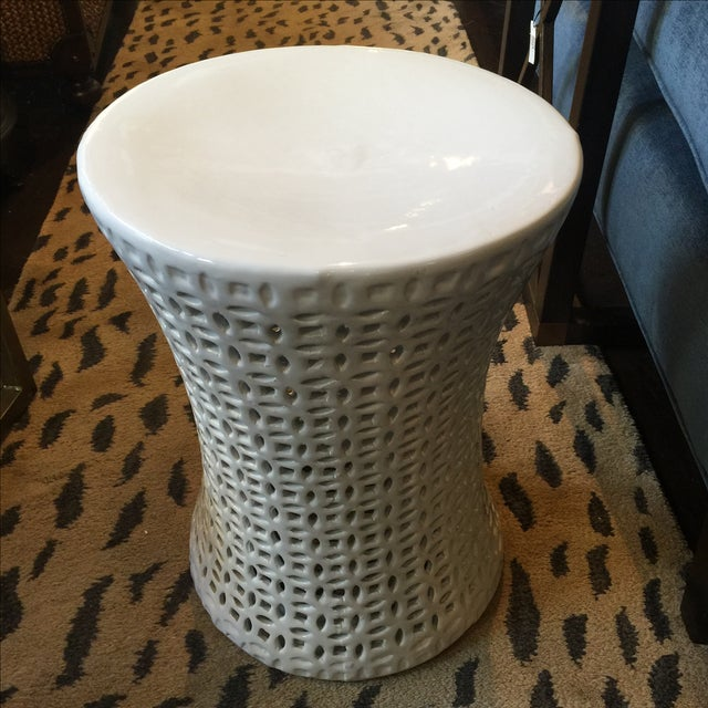 Image of Ceramic Garden Stool